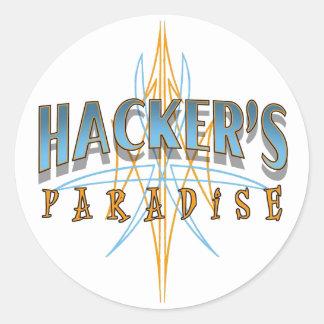 Hacker's Paradise Stickers