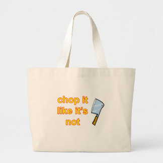 hackmesser large tote bag