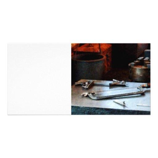 Hacksaw Customized Photo Card