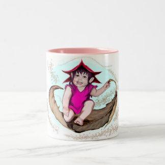 Hada Yali Two-Tone Coffee Mug