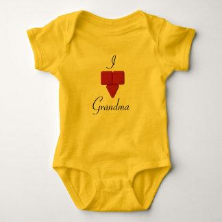 Hadali Toys - I Hadali Heart Grandma Baby Bodysuit