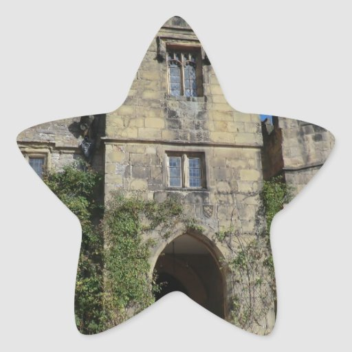 Haddon Hall Star Sticker