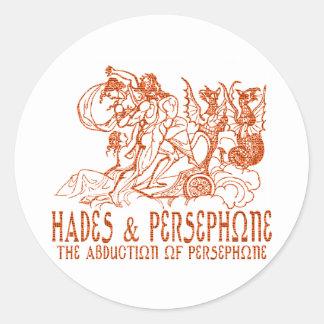 Hades & Persephone Classic Round Sticker