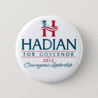 Hadian for Governor 2 Inch Round Button