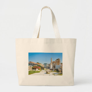 Hadrian Library in Athens, Greece Large Tote Bag