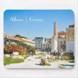 Hadrian Library in Athens, Greece Mouse Pad
