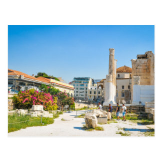 Hadrian Library in Athens, Greece Postcard