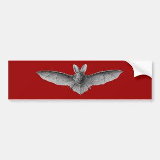 Haeckel Bat Bumper Sticker