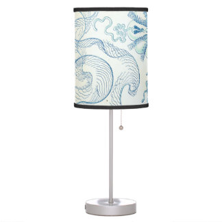 Haeckel Ctenophorae Desk Lamps