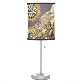 Haeckel Discomedusae Table Lamps
