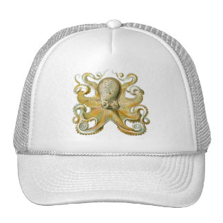 Haeckel Octopus Trucker Hat