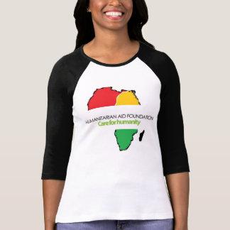 HAF Ladies Sleeve Raglan T-Shirt