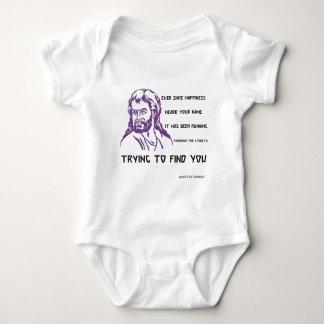 hafez quote baby bodysuit