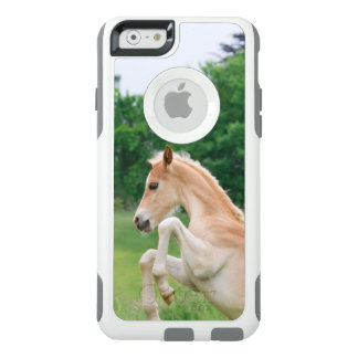 Haflinger Horse a Cute Foal Funny Frolic  Commuter OtterBox iPhone 6/6s Case