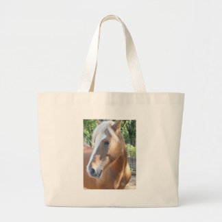 Haflinger Horse Large Tote Bag