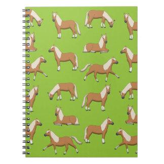 Haflinger Spiral Notebook