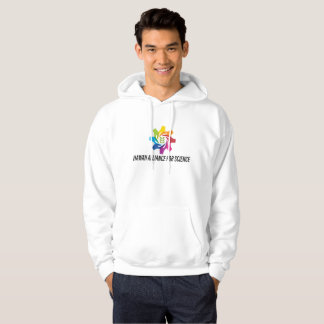 HAfS Men's Basic Hooded Sweatshirt (White)