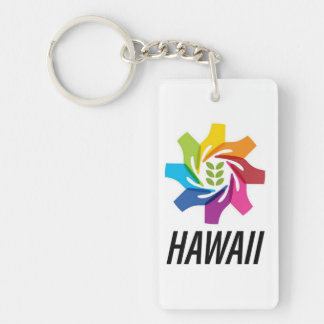 HAfS Rectangle (double-sided) Keychain