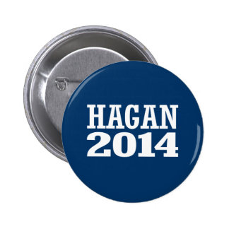 HAGAN 2014 PINBACK BUTTON