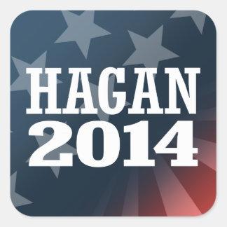 HAGAN 2014 STICKER