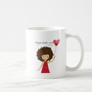 Hagán Todo Con Amor Taza Coffee Mug
