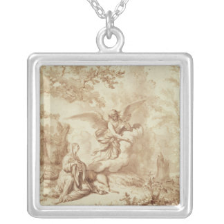 Hagar in the Wilderness Silver Plated Necklace