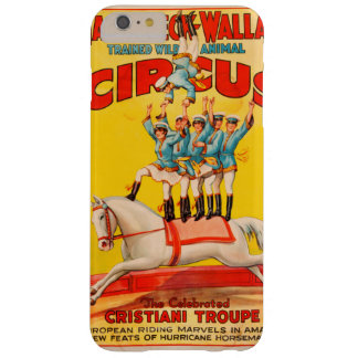 Hagenbeck Wallace Circus Barely There iPhone 6 Plus Case