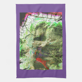 Hager MOUNTAIN Map Fremont Winema National Forest Kitchen Towel