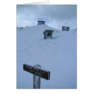Hager Mtn. Fire Lookout Card