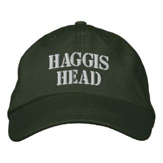 HAGGIS HEAD HAT BASEBALL CAP