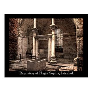 Hagia Sophia Baptistery Postcard