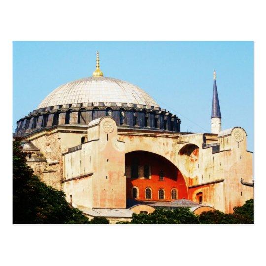 Hagia Sophia in Constantinople PICTURE Postcard