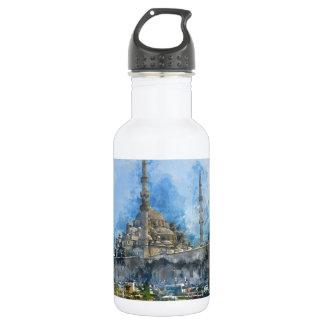 Hagia Sophia in Istanbul Turkey 532 Ml Water Bottle
