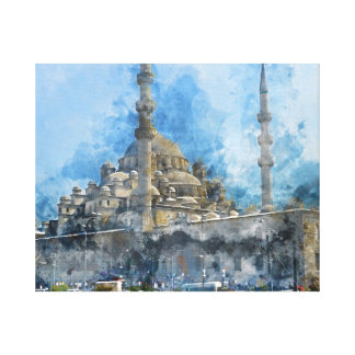 Hagia Sophia in Istanbul Turkey Canvas Print
