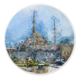 Hagia Sophia in Istanbul Turkey Ceramic Knob