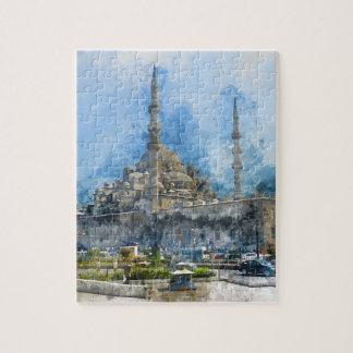 Hagia Sophia in Istanbul Turkey Jigsaw Puzzle