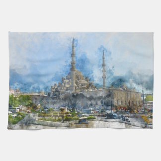 Hagia Sophia in Istanbul Turkey Kitchen Towel