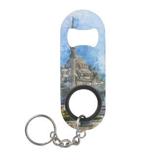 Hagia Sophia in Istanbul Turkey Mini Bottle Opener