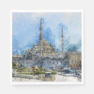 Hagia Sophia in Istanbul Turkey Paper Napkin