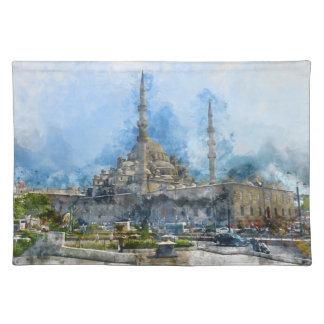 Hagia Sophia in Istanbul Turkey Place Mat