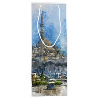 Hagia Sophia in Istanbul Turkey Wine Gift Bag