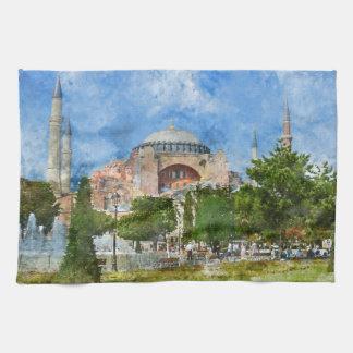 Hagia Sophia in Sultanahmet, Istanbul Hand Towel