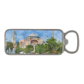 Hagia Sophia in Sultanahmet, Istanbul Magnetic Bottle Opener