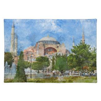 Hagia Sophia in Sultanahmet, Istanbul Place Mats