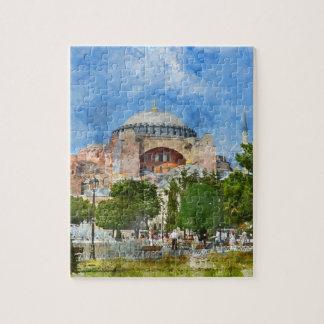 Hagia Sophia in Sultanahmet, Istanbul Puzzle
