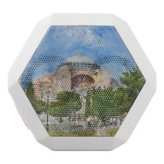 Hagia Sophia in Sultanahmet, Istanbul White Bluetooth Speaker