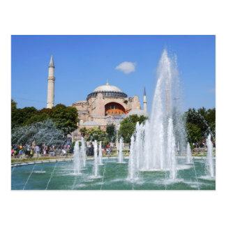 Hagia Sophia, Istanbul Postcard