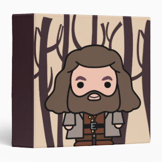 Hagrid Cartoon Character Art Binders