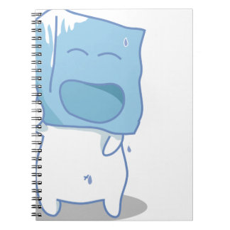 Haha Ice cube Notebook