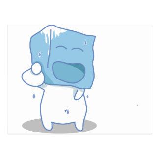 Haha Ice cube Postcard